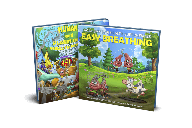 Academy for Health Superheroes: Easy Breathing (Pre-Order)