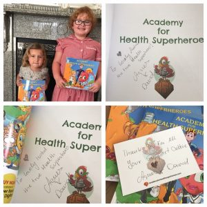 kids with books health superheroes (7)