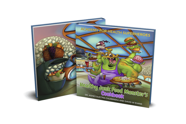 Healthy Junk Food Monster's Cookbook (Pre-Order)