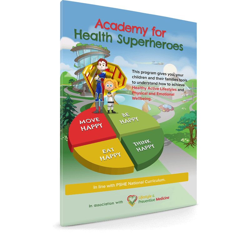 Academy for Health Superheroes Workbook