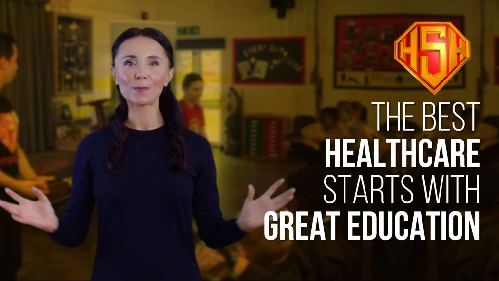 The Best Healthcare Starts with great education